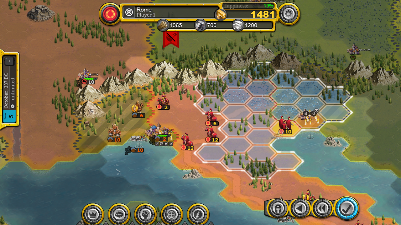 Demise of Nations - 4X Turn-Based Grand Strategy Game